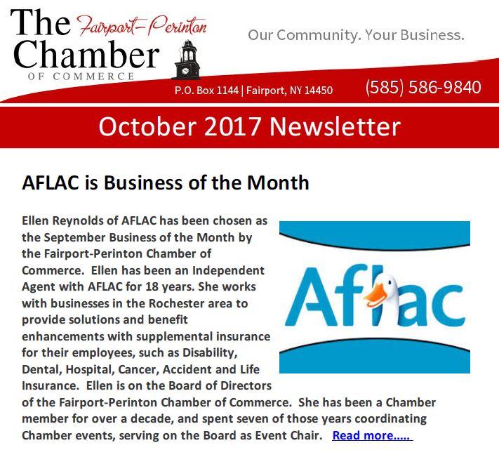 October 2017 newsletter fairport perinton chamber of commerce reheart Gallery
